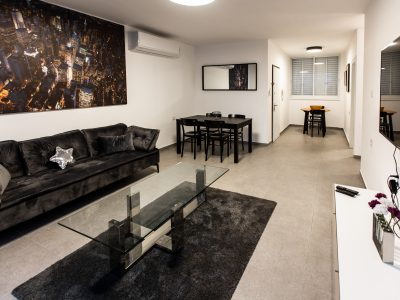 Ussishkin Dream Netanya Apartment Saloon at the center of Netanya